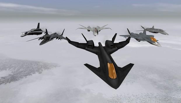 Ace Combat X Fictional Aircraft Pack 1