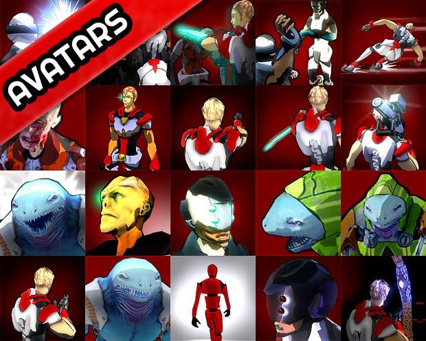 THE BODY CHANGER avatars pack 01