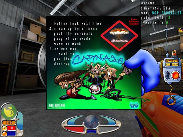 WoP Carnage MusicPack (WIN-Installer)