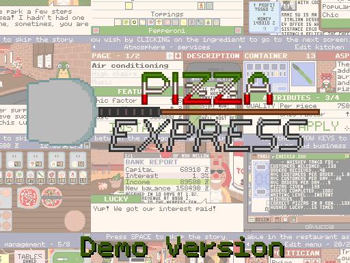 Pizza Express - Demo Version