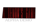 A Demon's Game: Alpha Demo