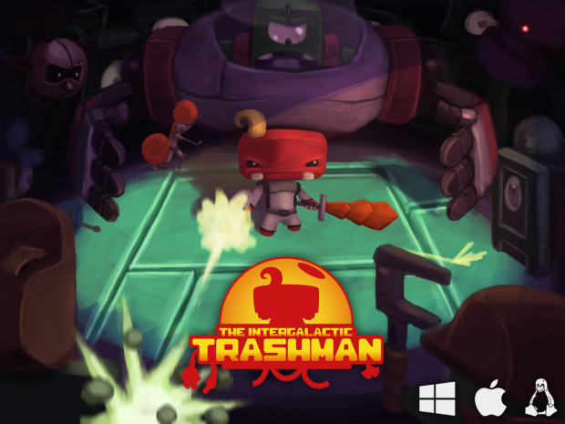 The Intergalactic Trashman - Tech-Demo [Windows]