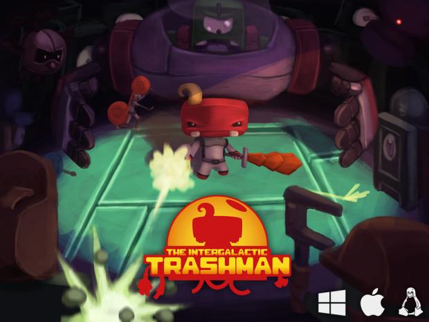 The Intergalactic Trashman - Tech-Demo [Mac]