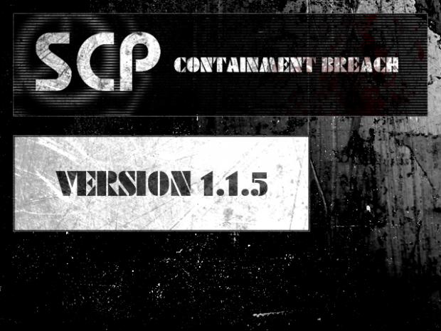 SCP - Containment Breach v1.1.5
