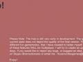 The Hub V0.08b! Bug Fix Update