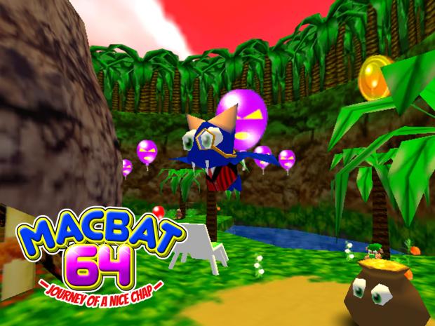 Macbat 64 - First Alpha Demo