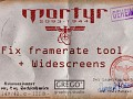 Mortyr 1944-2093 fix fraps + widescreen resolution
