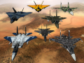 Certain Foreign Ace Combat skins