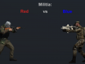 militia: Red vs Blue