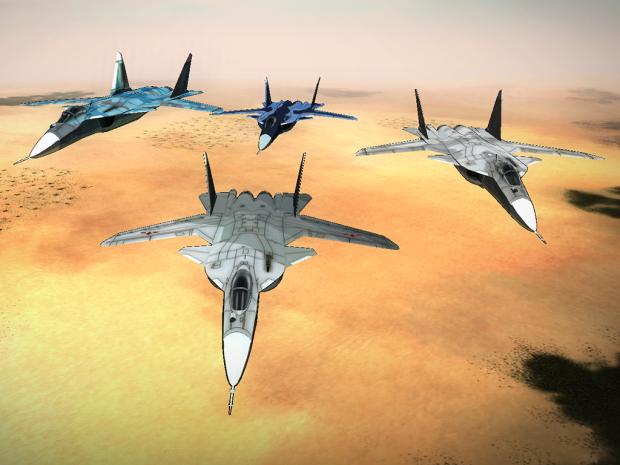 Su-47S Berkut Paint Pack