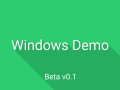 Windows Demo (Beta v0.1)