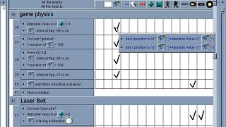 Multimedia Fusion Event Editor