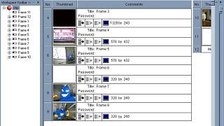 Multimedia Fusion Storyboard Editor