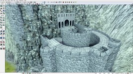 Helm's Deep Work-in-progress