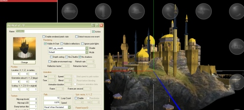 Modeling for 3D Rad