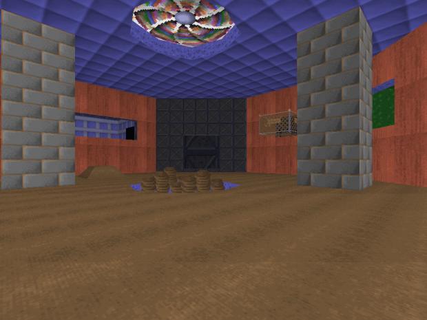 Fan, water, floor/wall sprite cage