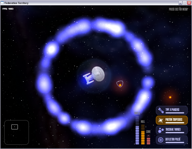 Federation Territory, a game built with Slick