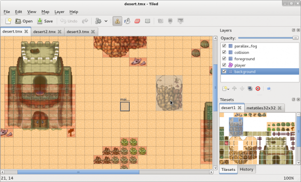 Tiled Map Editor, supported by Slick