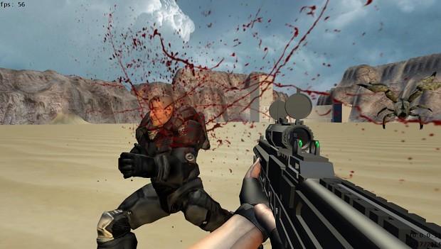 More Blood Splatter Test Screenshots