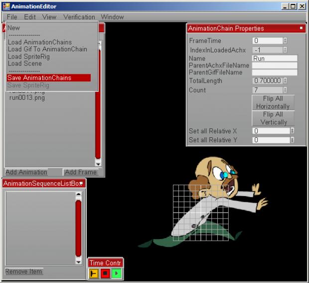 Engine Editor Screenshots