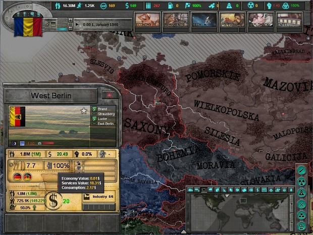 East vs. West: A Hearts of Iron Game (2013)