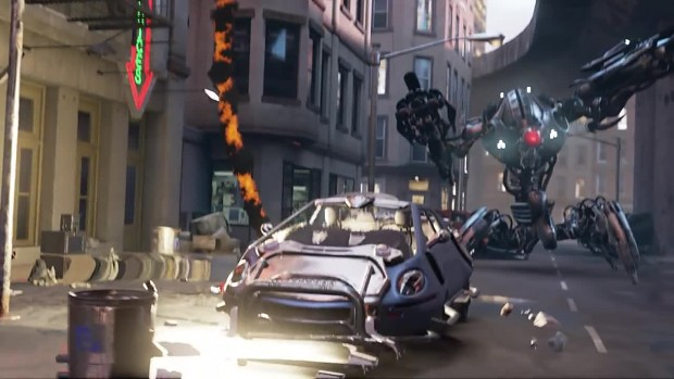 Unreal Engine 4 Showdown Cinematic VR Demo by Epic