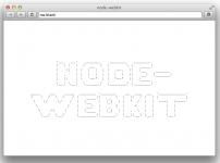 node-webkit app