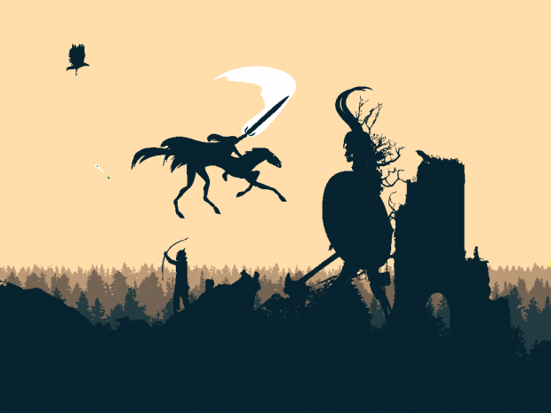 Screenshot from a game project