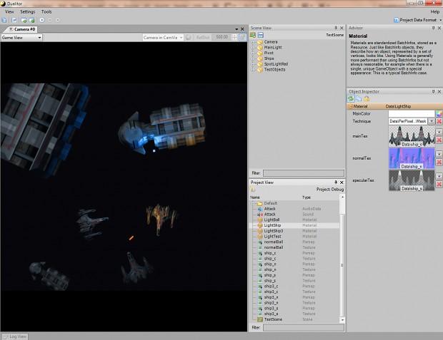 Duality Editor Screenshots