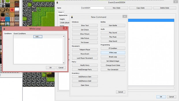 Rpgboss 0 6 1 While Loop Event/Break Loop image - Indie DB