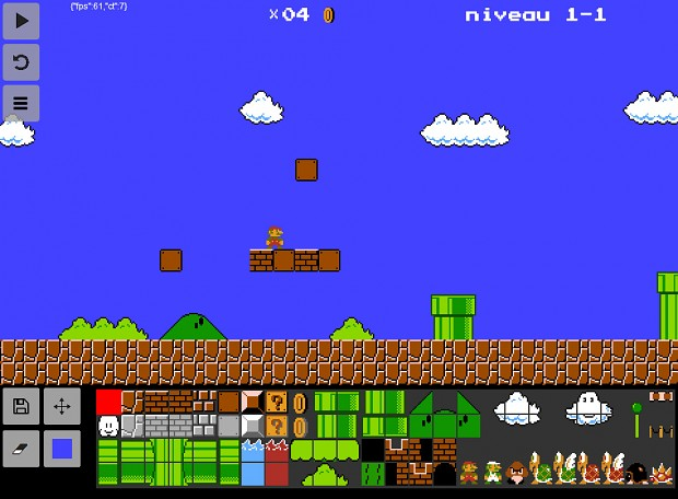 Super Mario Bros, level 1-1