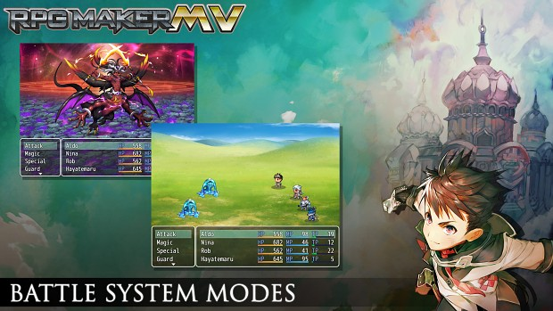 Battle system modes