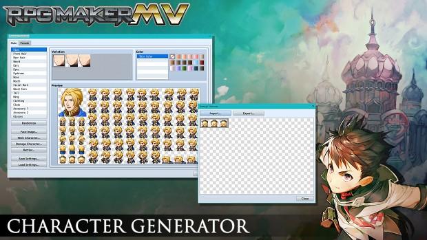 Character generator image - RPG Maker MV - Indie DB