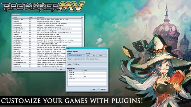 Customize your games with plugins