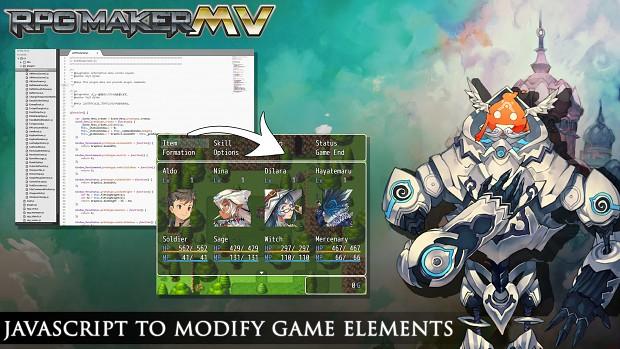 Javascript to modify game elements