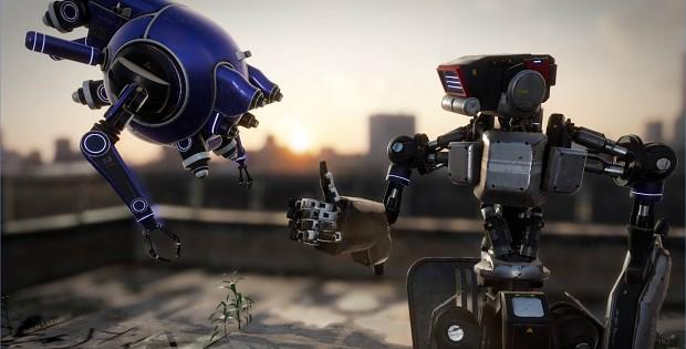 """""""Rescue Drone"""" tech demo (CEDEC 2015)"""