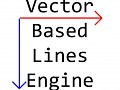 Vector Based Lines Engine (2D)