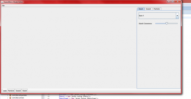 New Model Editor UI