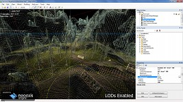 Heightmap terrain - LODs enabled