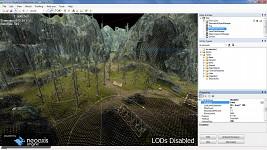 Heightmap terrain - LODs disabled