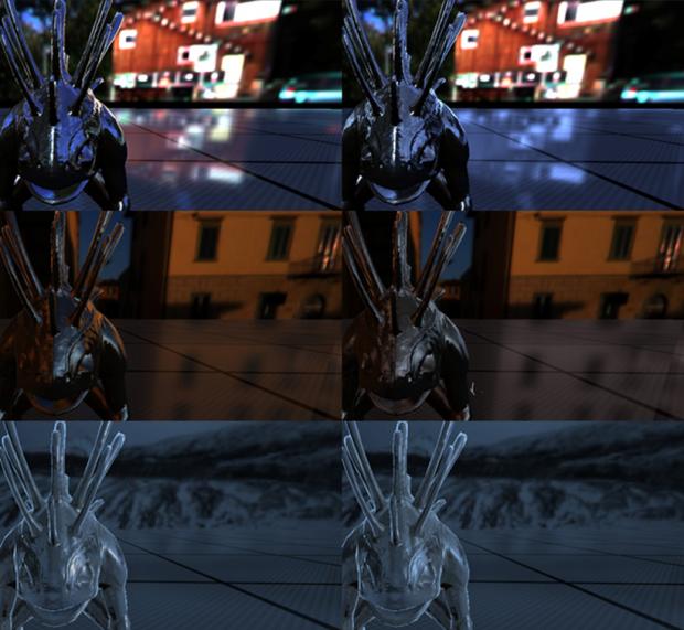 IBL Fast rendering