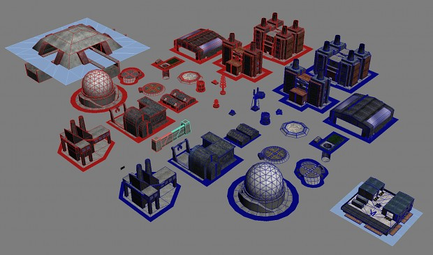 Proxy Objects in 3DS Max