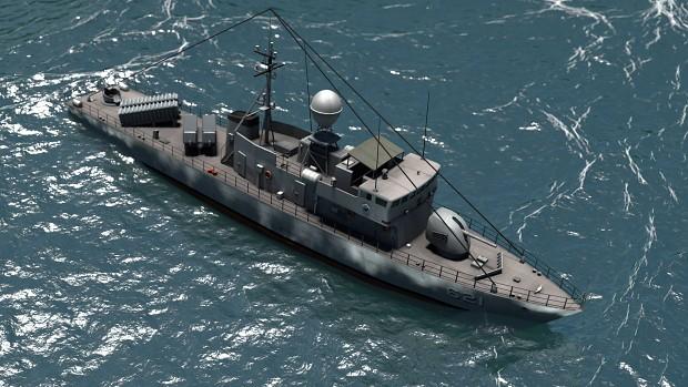Allied Gunboat
