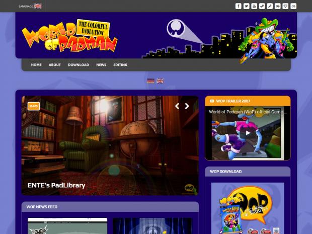 WoP new website