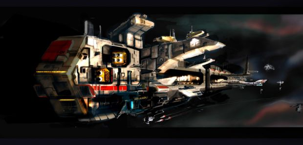 Ships - Space Train