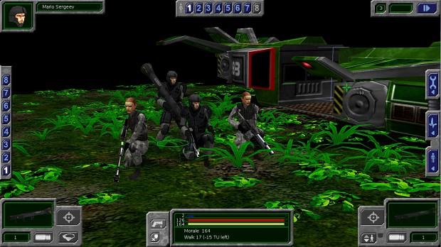 WIP Soldier Models