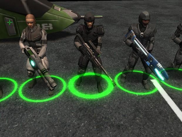2.5 Soldier Models