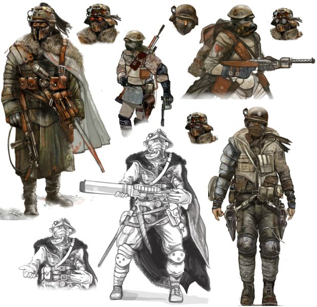 Apocalyptic Soldier Pics: The Atelian Warlords Image