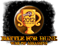 Battle for Dune: War of Assassins IGOTY 2012