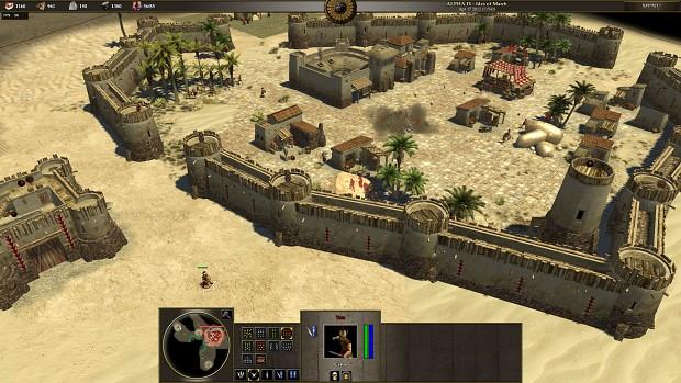 Iberian Faction Bonus (walls and more walls)
